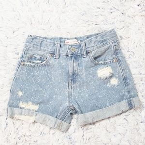 Levi's Girls Shorty Shorts Size 10